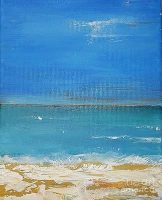 Painting - Beach  Evening by Diana Bursztein
