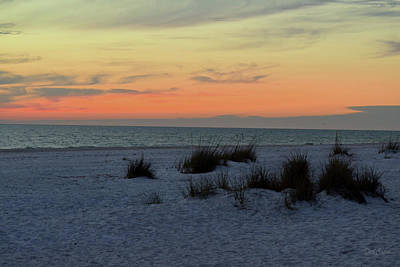 Photograph - Beach Evening Tones by Deborah  Crew-Johnson