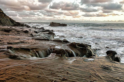 Photograph - Beach Falls by Cliff Wassmann