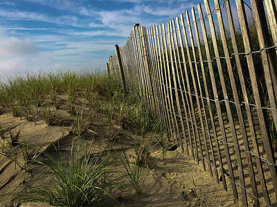 Photograph - Beach Fence by Patrice Zinck
