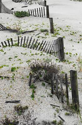 Photograph - Beach Fences by Kim Zwick
