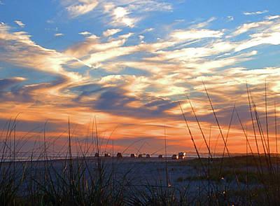 Photograph - Beach Fishing by Newwwman