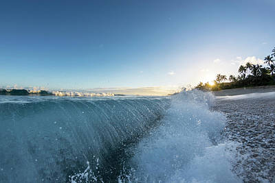 Photograph - Beach Fold by Sean Davey