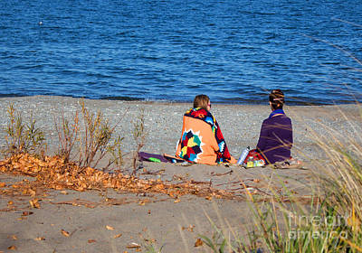 Photograph - Beach Friends by Barbara McMahon