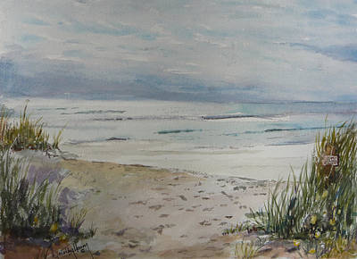 Beach Front Art Print by Dorothy Herron