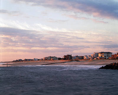 Virginia Beach Photograph - Beach Front Homes Virginia Beach Va by Panoramic Images