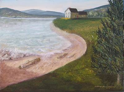 Painting - Beach Front by Robert Harrington