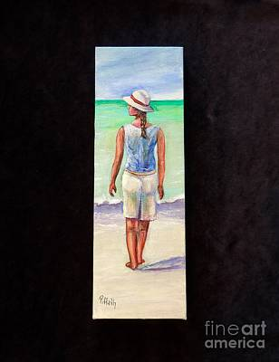Painting - Beach Girl by Patricia Piffath