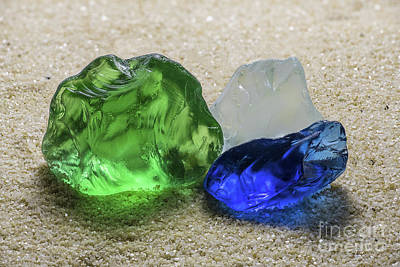 Photograph - Beach Glass by Anthony Sacco