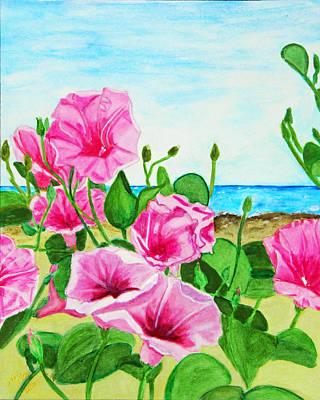 Beach Glories Original by M Gilroy