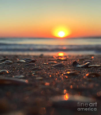 Photograph - Beach Glow by LeeAnn Kendall