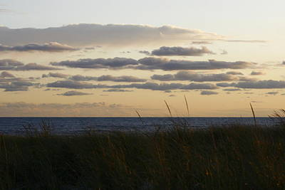 Photograph - Beach Grass Sea Clouds by Christopher Kirby