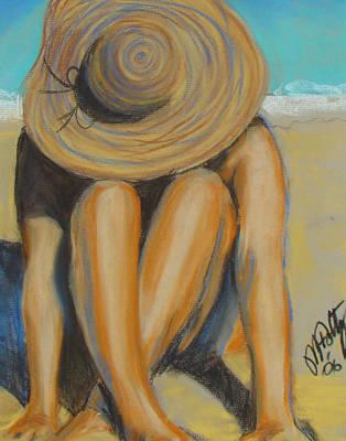 Painting - Beach Hat by Michael Foltz