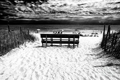Photograph - Beach Haven Beach Day by John Rizzuto