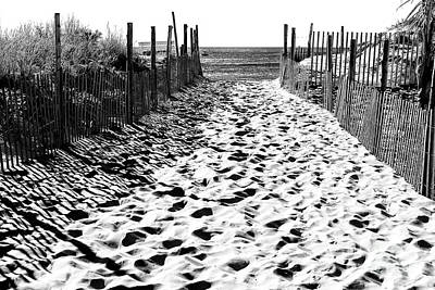 Photograph - Beach Haven Beach Entry 2006 by John Rizzuto