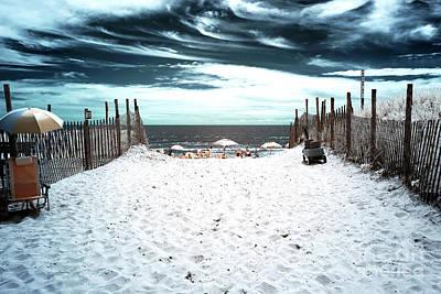 Photograph - Beach Haven Blues by John Rizzuto