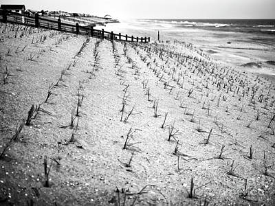 Photograph - Beach Haven Dune Angles by John Rizzuto
