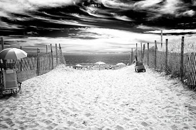Photograph - Beach Haven Entry by John Rizzuto