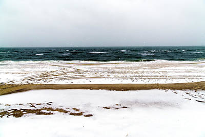 Photograph - Beach Haven Winter by John Rizzuto