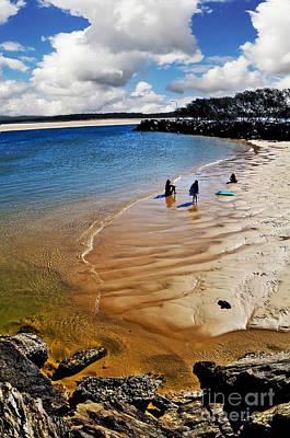 Photograph - Beach Holiday By Kaye Menner by Kaye Menner