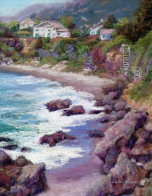 Painting - Beach Homes by Jan Hardenburger