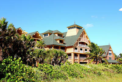 Photograph - Beach Hotel by Gary Dunkel