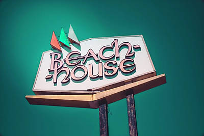 Photograph - Beach House by Jerry Golab