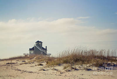 Beach Scene Photograph - Beach House by Joan McCool