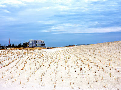 Photograph - Beach House On The Dunes by John Rizzuto