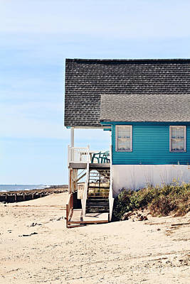 Beach House Print by Stephanie Frey