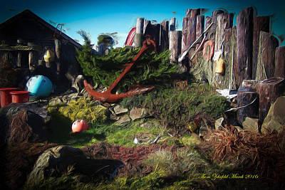 Photograph - Nye Beach Treasures by Thom Zehrfeld