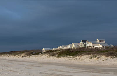 Photograph - Beach Houses by Brian Kinney