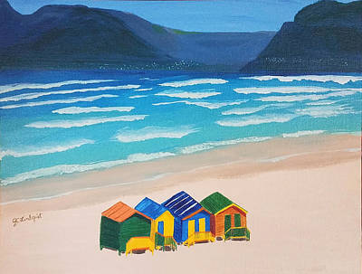 Painting - Beach Houses by Jennifer Lindquist