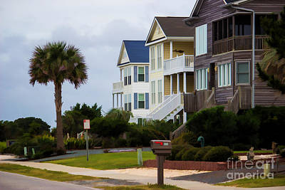 Photograph - Beach Houses by Roberta Byram