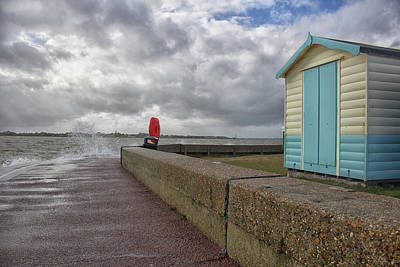 Essex Wall Art - Photograph - Beach Hut by Martin Newman