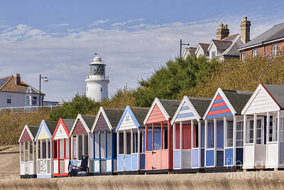 Photograph - Beach Huts At Southwold by Colin and Linda McKie