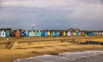Photograph - Beach Huts At Southwold by David Warrington