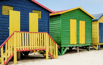 Photograph - Beach Huts At St. James Beach. by Rob Huntley