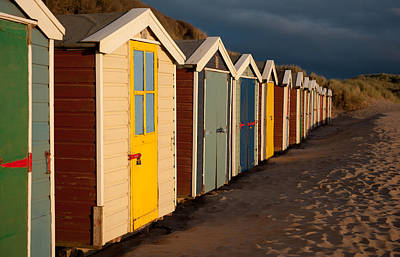 Beach Huts II Art Print