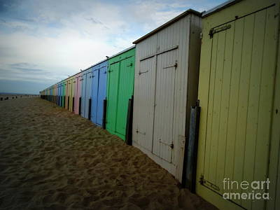 Photograph - Beach Huts by Lainie Wrightson