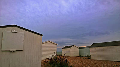 Photograph - Beach Huts Shoreham by Anne Kotan