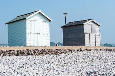 Photograph - Beach Huts Viii by Helen Northcott