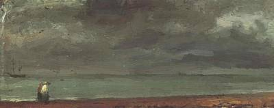 Painting - Beach In Brighton by Constable John