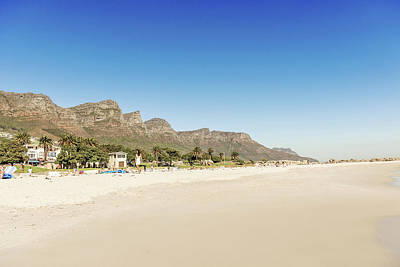 Photograph - Beach In Cape Town, South Africa by Marek Poplawski