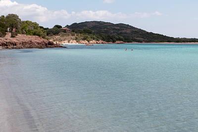 Photograph - Beach In Corsica by Pietro Ebner