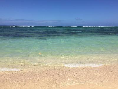 Beach Photograph - Beach In Guadeloupe by Cristina Stefan