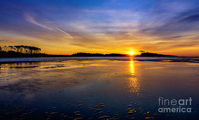 Photograph - Beach Inlet Sunrise by David Smith