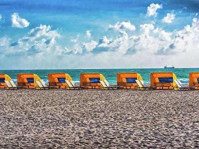 Photograph - Beach Joy by Robin Zygelman