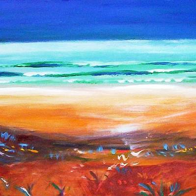 Painting - Beach Joy by Winsome Gunning