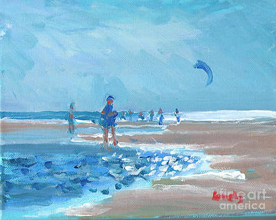 Painting - Beach Kite by Candace Lovely